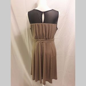 Enfocus Studio Dresses - Enfocus Polka Dot Fit & Flare Dress